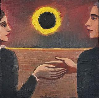 Katarzyna Karpowicz : Touch : Oil on Canvas