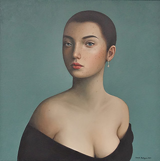 Katarzyna Kubiak : Freckles : Oil on Canvas