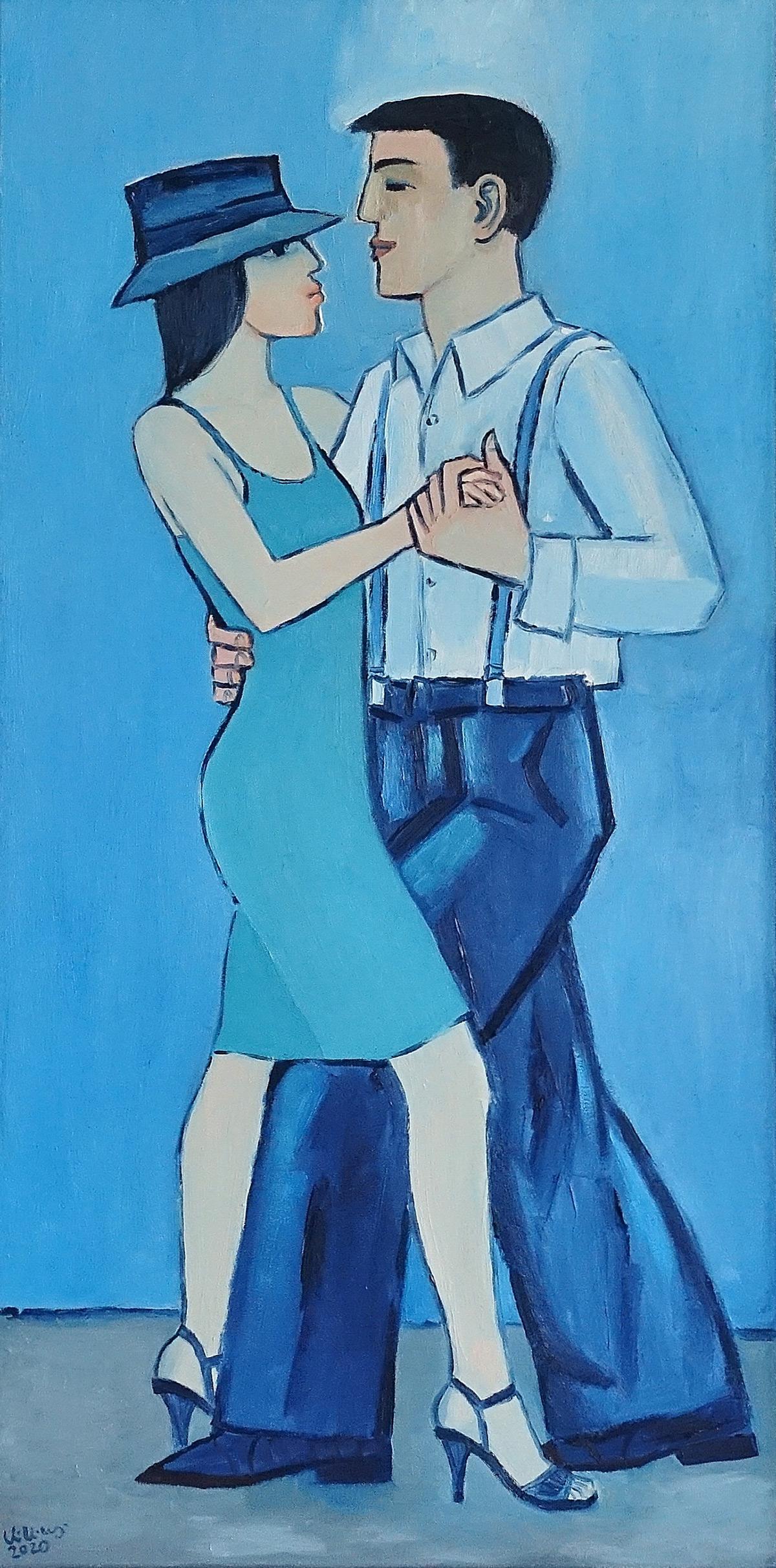 Krzysztof Kokoryn : Couple in dance