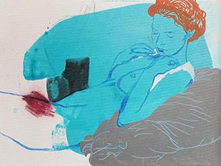 Agnieszka Sandomierz : It is still going on : Tempera on canvas