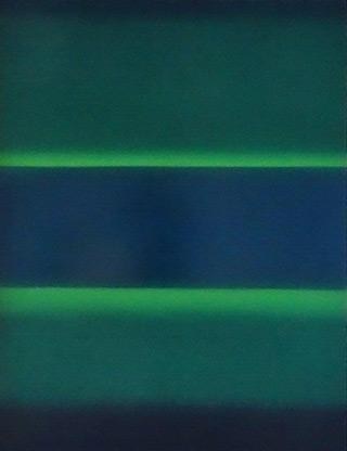 Anna Podlewska : Deep green : Oil on Canvas