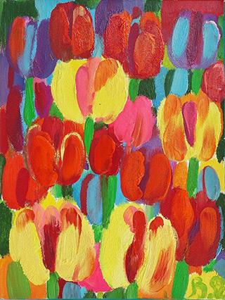Beata Murawska : Freshness : Oil on Canvas