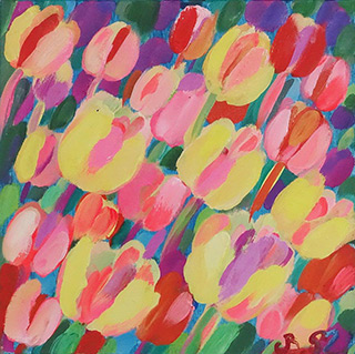 Beata Murawska : Shine : Oil on Canvas