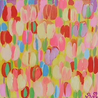 Beata Murawska : Venus tulips : Oil on Canvas