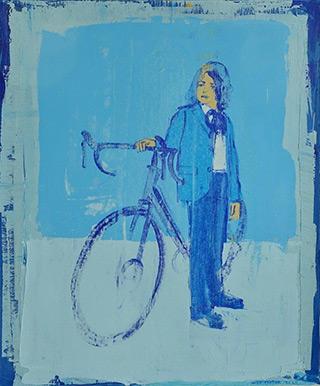 Jacek Łydżba - Old style cyclist