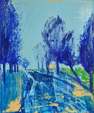 Jacek Łydżba : Polish landscape : Oil on Canvas