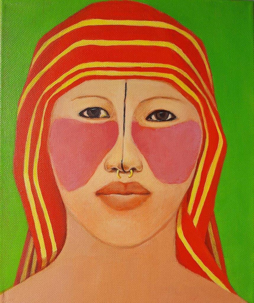 Katarzyna Castellini : Indian woman