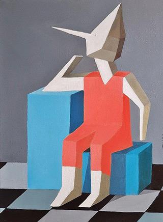 Katarzyna Castellini : Maybe someday.. : Acrylic on canvas