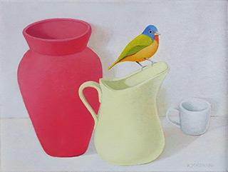 Katarzyna Castellini - Multicolored bird