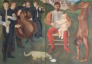 Katarzyna Karpowicz : Abraham and Isaac : Oil on Canvas
