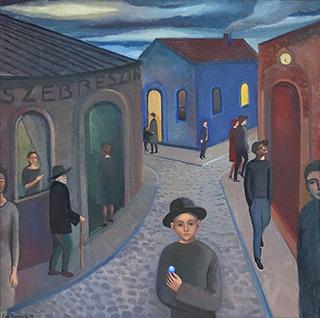 Katarzyna Karpowicz : Before evening comes : Oil on Canvas