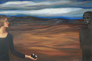 Katarzyna Karpowicz : Presence : Oil on Canvas