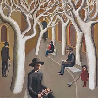 Katarzyna Karpowicz : Quiet time : Oil on Canvas