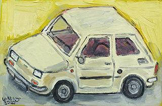 Krzysztof Kokoryn : Little Fiat : Oil on Canvas