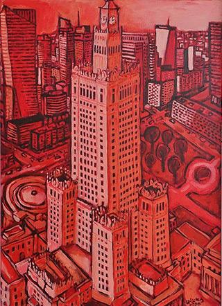 Krzysztof Kokoryn : Palace : Oil on Canvas