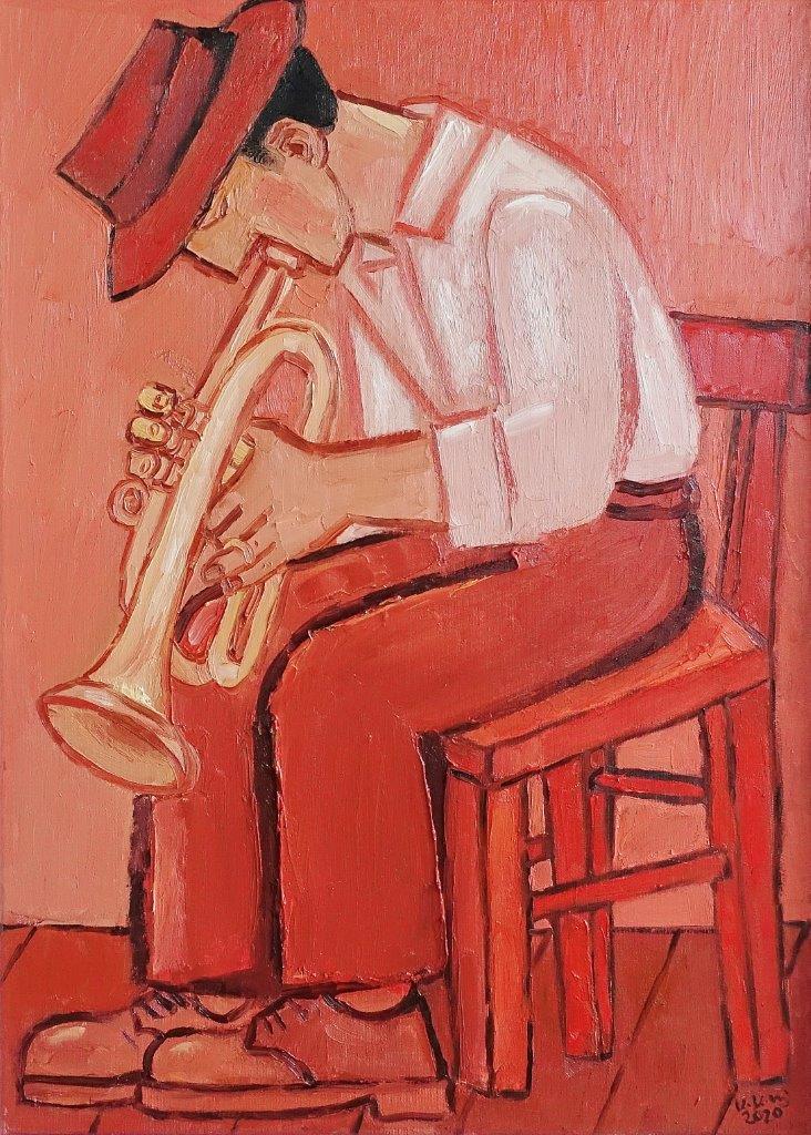 Krzysztof Kokoryn : Trumpet player