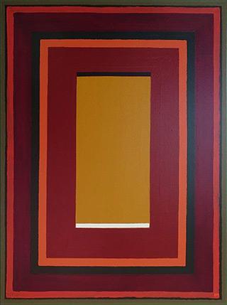 Łukasz Majcherowicz : Light - Shadow : Mixed media on canvas