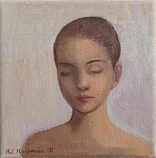 Katarzyna Karpowicz : Silence : Oil on Canvas