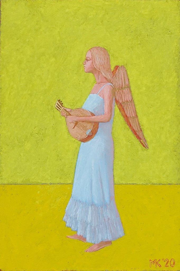 Mikołaj Kasprzyk : Angel with a lute