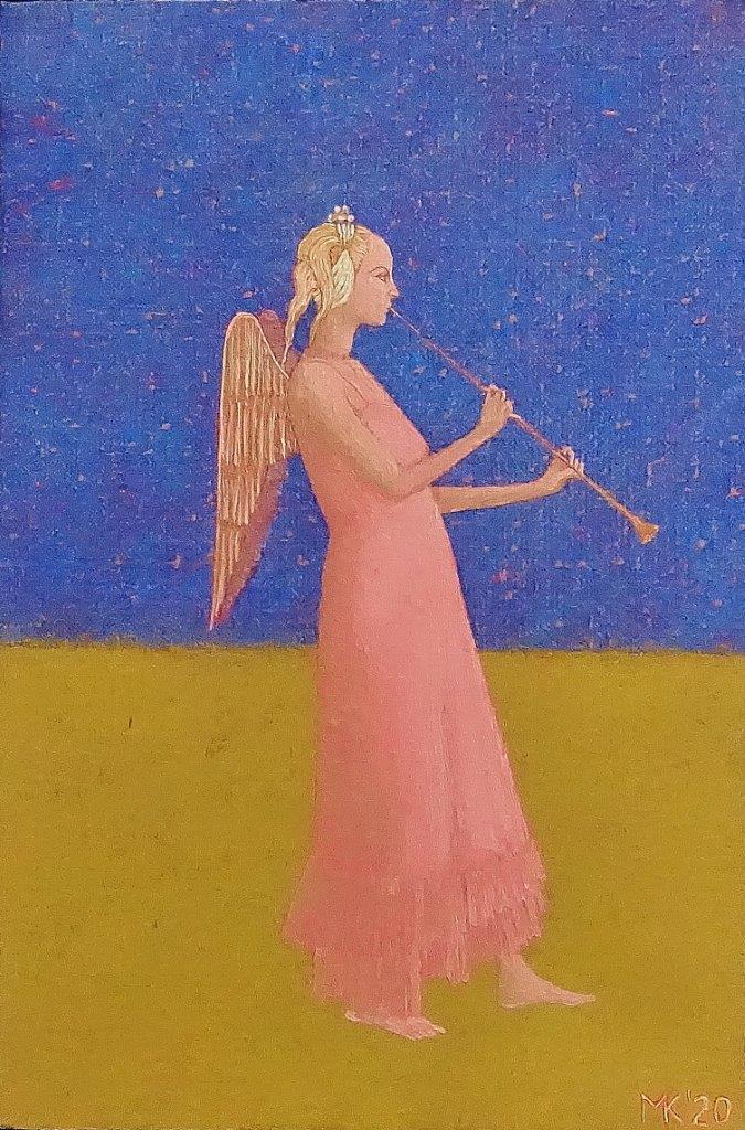 Mikołaj Kasprzyk : Angel with a trumpet