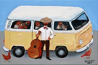 Krzysztof Kokoryn : Mariachi : Oil on Canvas