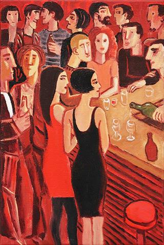 Krzysztof Kokoryn : Prosecco : Oil on Canvas