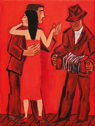 Krzysztof Kokoryn : Tango II : Oil on Canvas