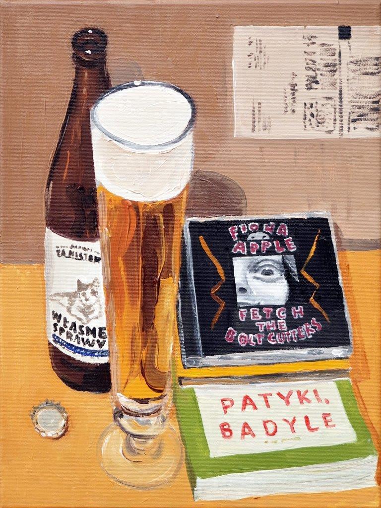 Krzysztof Kokoryn : Still life with Fiona Apple CD
