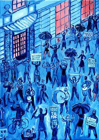 Krzysztof Kokoryn : ***** *** : Oil on Canvas