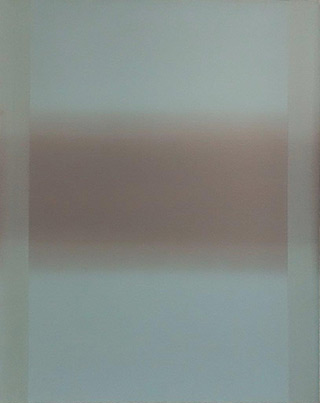 Anna Podlewska : Ultra light blue : Oil on Canvas
