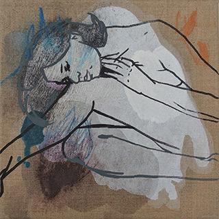 Agnieszka Sandomierz : Dream : Tempera on canvas