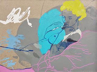 Agnieszka Sandomierz : Gentleness : Tempera on canvas