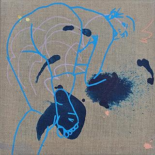 Agnieszka Sandomierz : Way you like it : Tempera on canvas