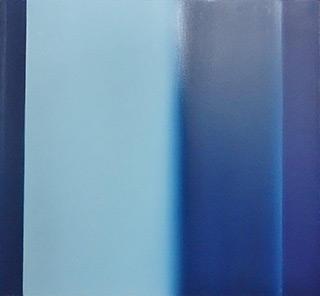 Anna Podlewska - Passage in blue