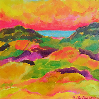Beata Murawska : Buongiorno amore : Oil on Canvas