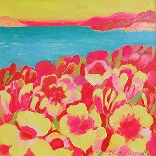 Beata Murawska : Dolce vita : Oil on Canvas