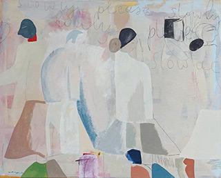 Jacek Cyganek : Slowly please slowly : Tempera on canvas