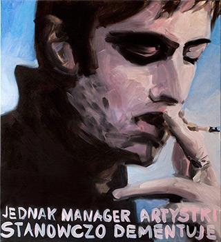 Katarzyna Swinarska : Good manager : Oil on Canvas