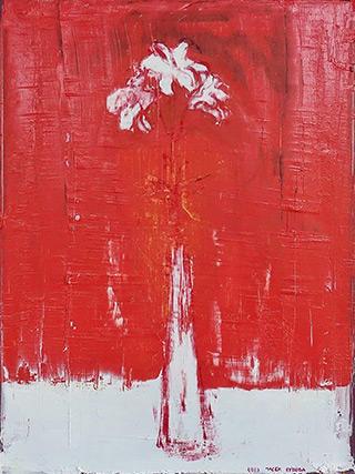 Jacek Łydżba : Lilies : Oil on Canvas