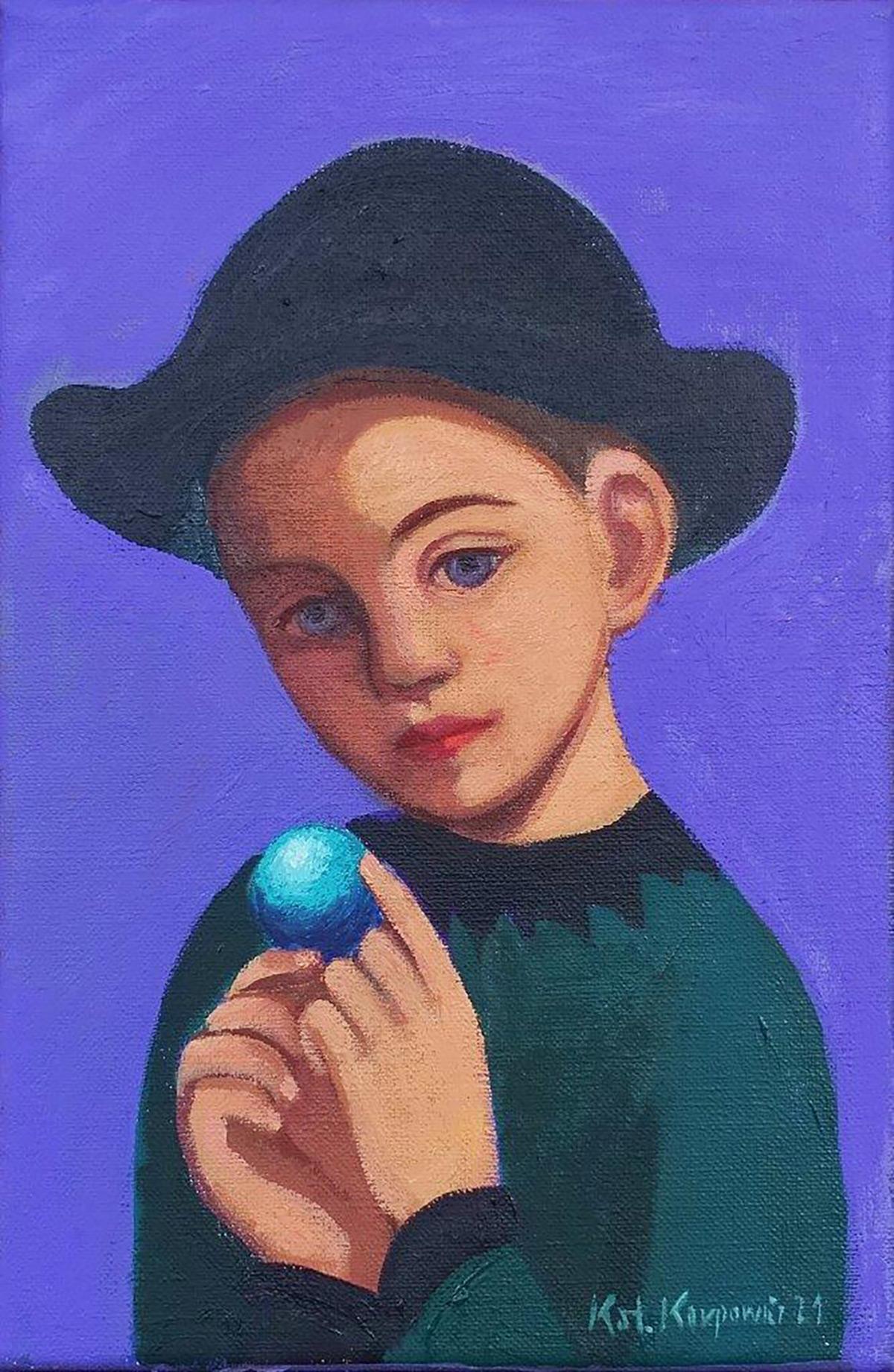 Katarzyna Karpowicz : Blue ball