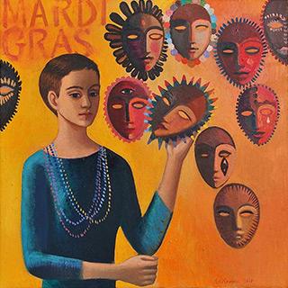 Katarzyna Karpowicz : Mardi Gras : Oil on Canvas