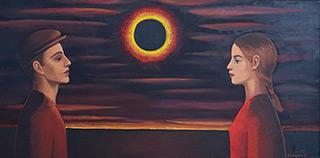 Katarzyna Karpowicz : Rendezvous : Oil on Canvas