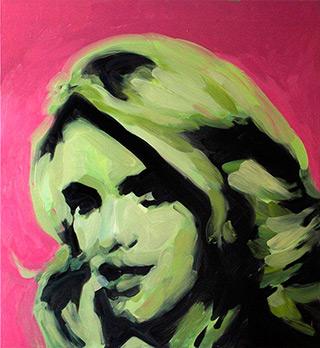 Katarzyna Swinarska : Jessica : Oil on Canvas