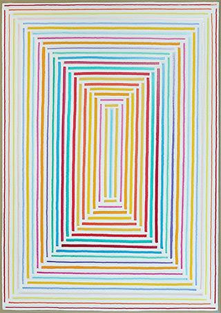 Łukasz Majcherowicz : To the light : Acrylic on canvas