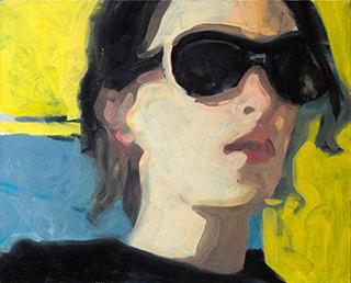 Katarzyna Swinarska : Lenka : Oil on Canvas