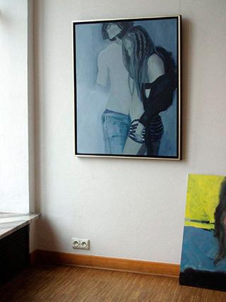 Katarzyna Swinarska : Love parade : Oil on Canvas