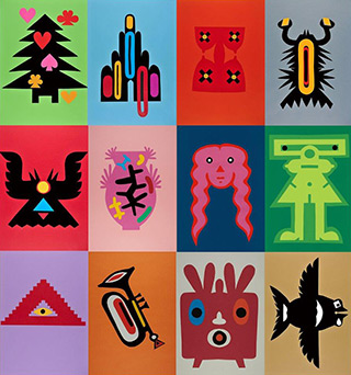 Daniel Zarewicz - Quadratura coloris 4