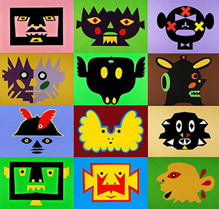 Daniel Zarewicz : Quadratura coloris 6 : Print on paper