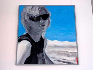 Katarzyna Swinarska : Luiza : Oil on Canvas