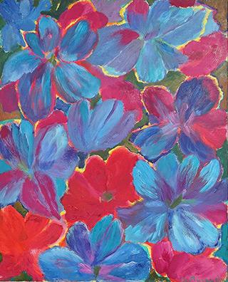 Beata Murawska - Blooming joy Blue